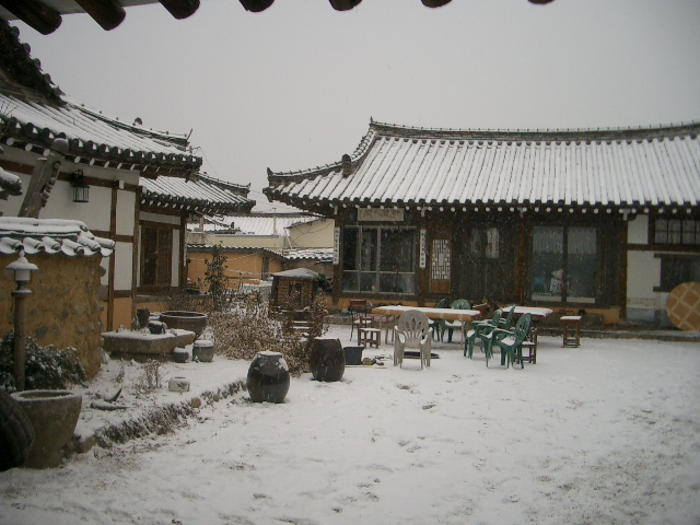hanok gyeongju