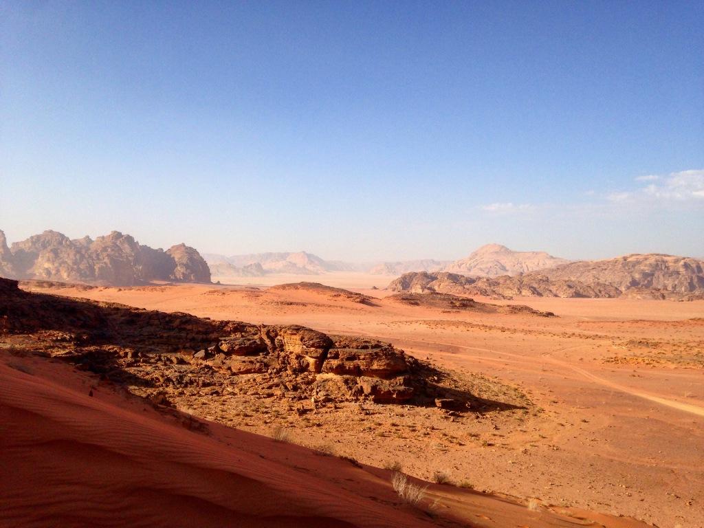 voyage jordanie wadi rum