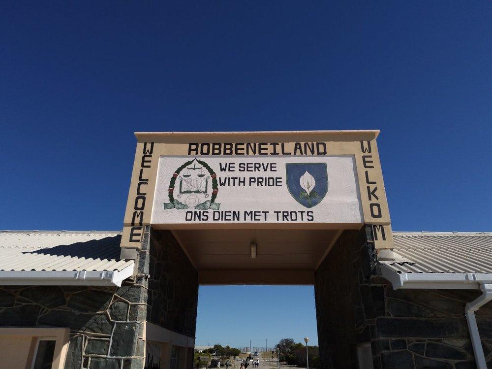 visiter le cap robben island