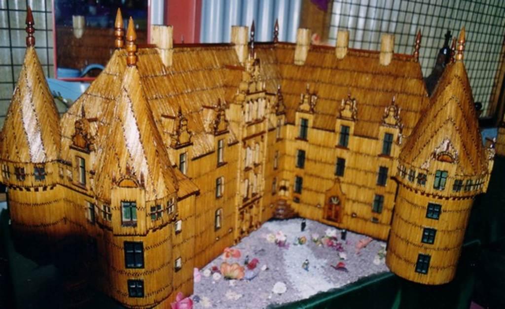 musée insolite châteaux allumettes