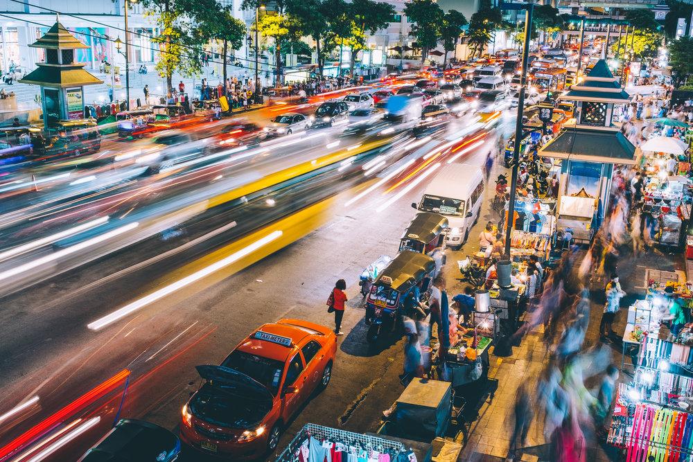 voyager thailande taxi