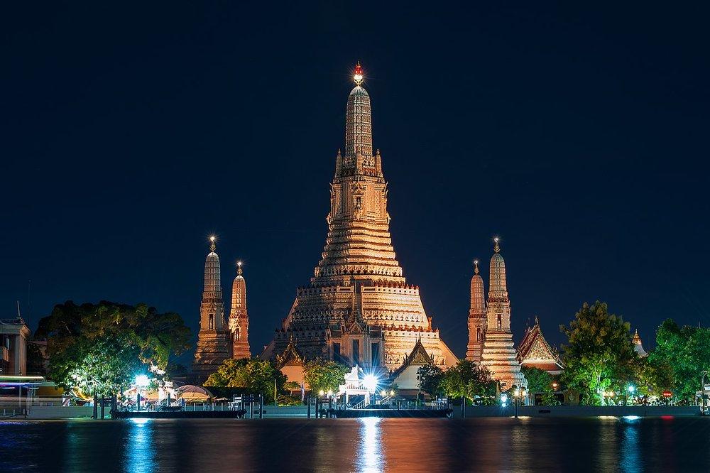 temples thaïlande wat arun
