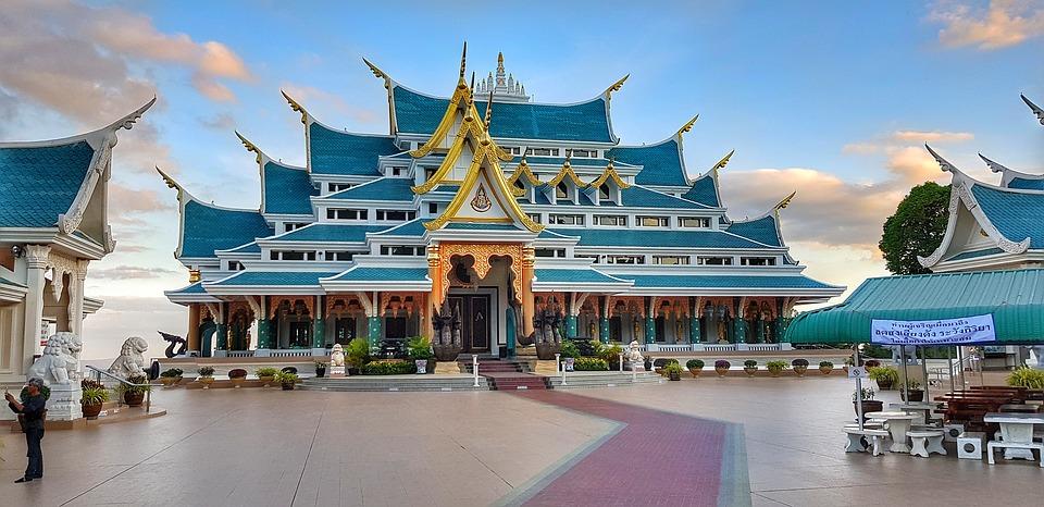 temples thaïlande wat pa Phuket kon
