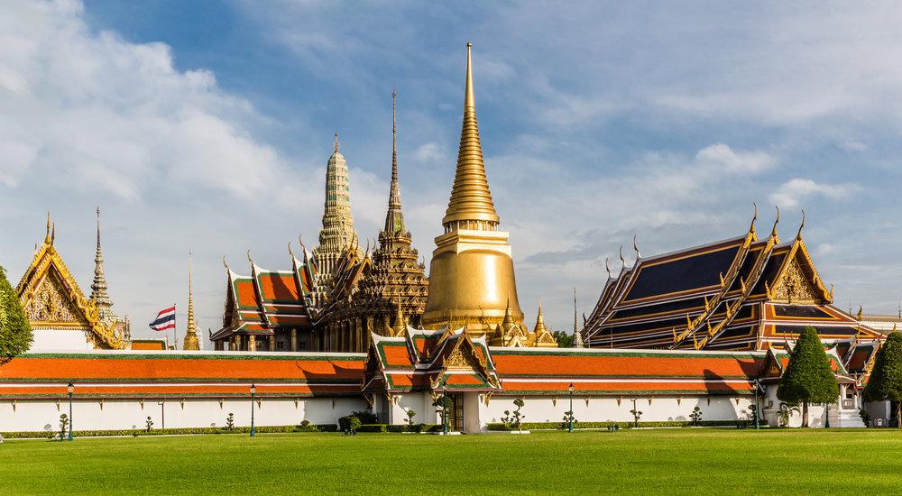 temples thaïlande wat phra kaeo