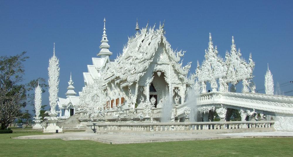 temples thaïlande wat rong khun