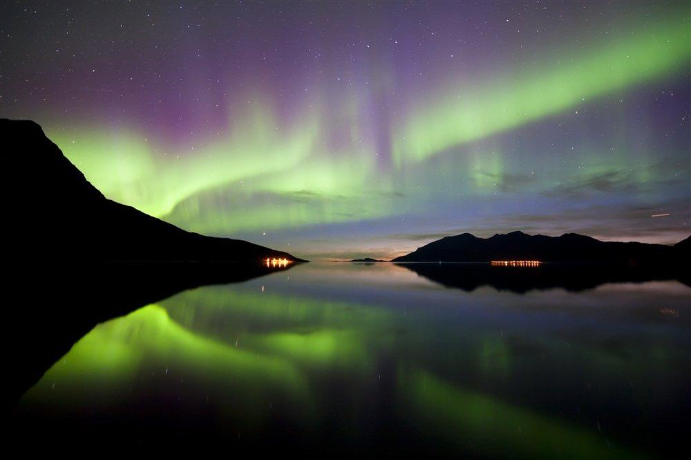 que faire norvège aurores boréales