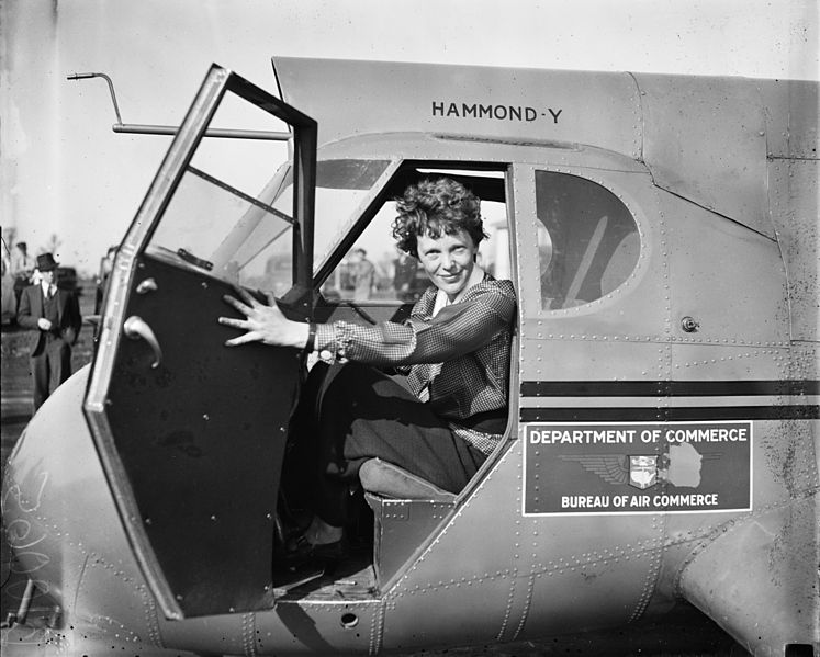 grandes voyageuses histoire amelia earhart