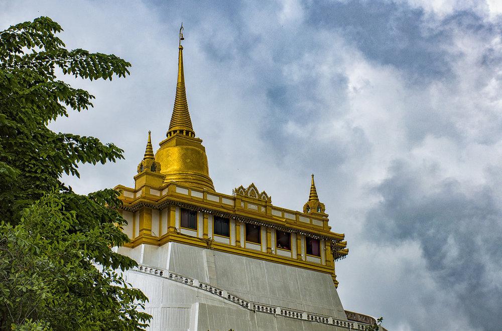 temples thaïlande  wat saket