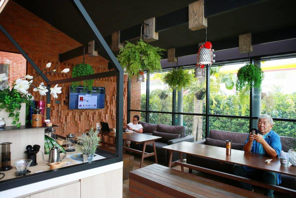 cafés Bangkok doi chaang