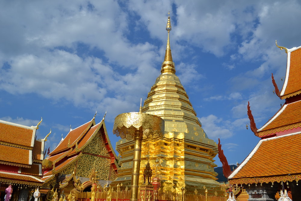 temples thaïlande wat phra that doi suthep