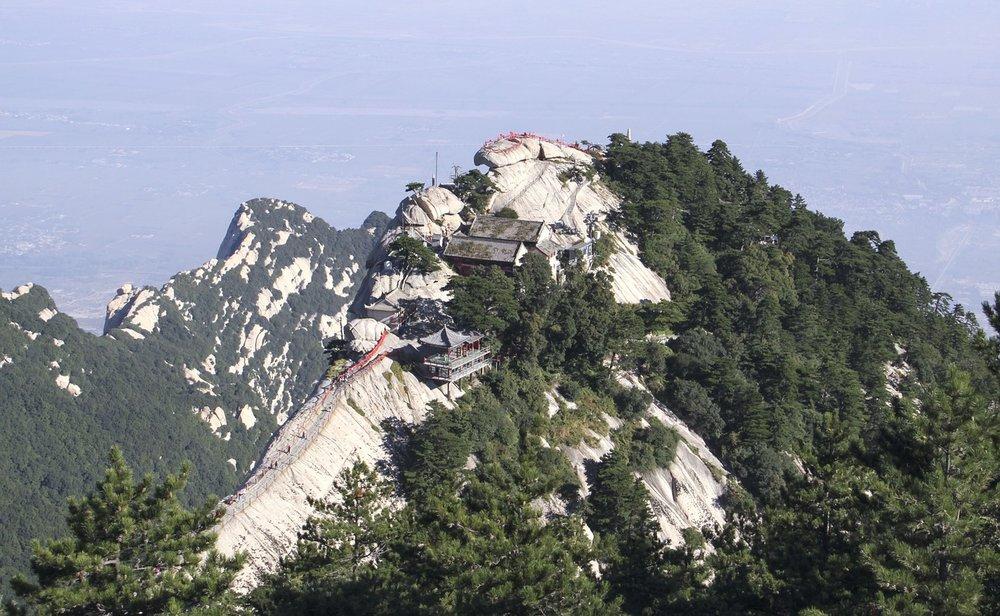 lieux dangereux mont huashan