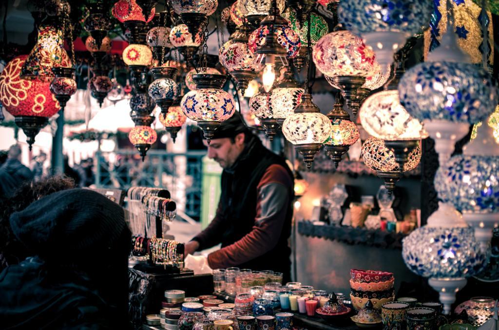 visiter Istanbul bazar