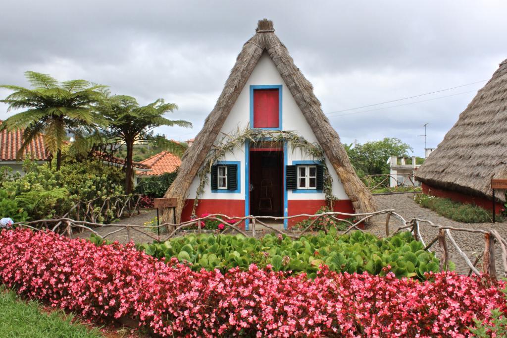visiter madère santana