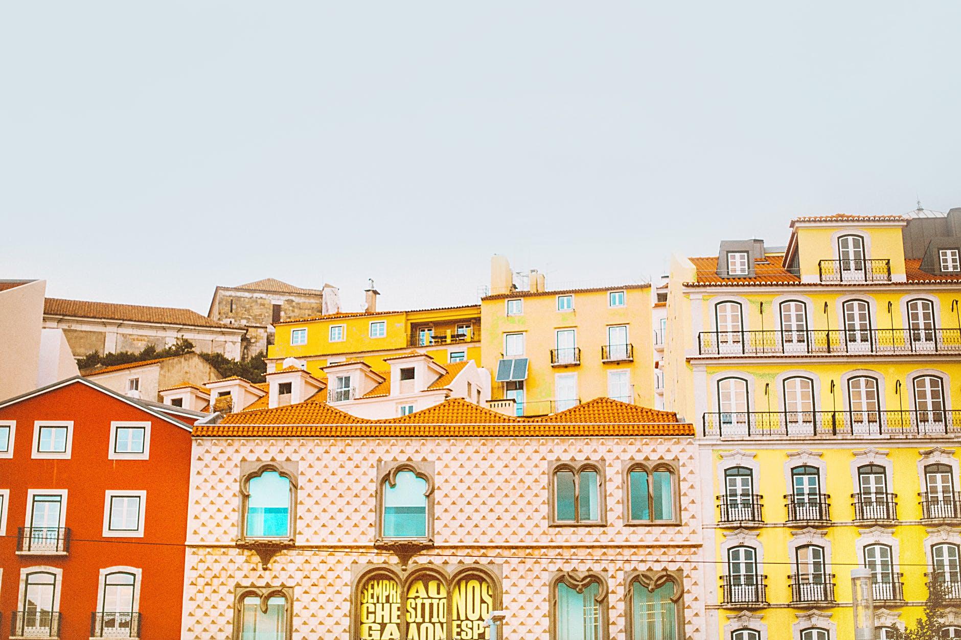 Une ville au Portugal